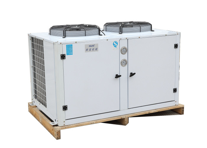 Bfca-0800 8 Hp 6Kw Refrigeration Condensing Unit U Type Semi - Hermetic Compressor for coldroom